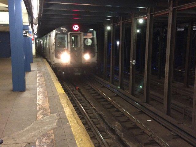 Llega el metro en Nueva York