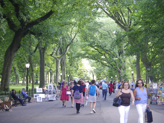 Central Park sin coches