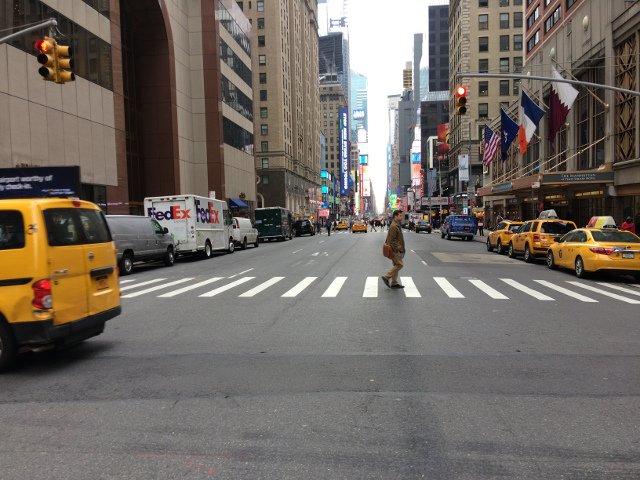 Las calles de Midtown en nuestra visita