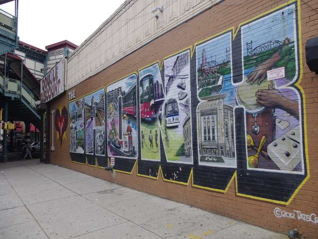 Tour de Contrastes en el Bronx