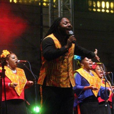 Misa Gospel en Harlem Nueva York