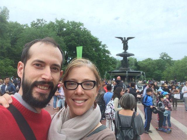 Pedro y Abby en Nueva York