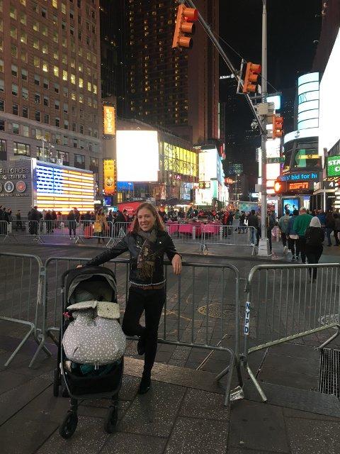 Abby y Paula en Nueva York