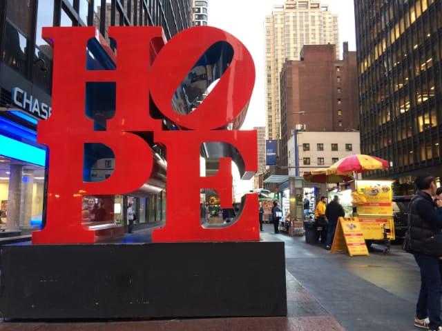 Símbolo de esperanza en Nueva York
