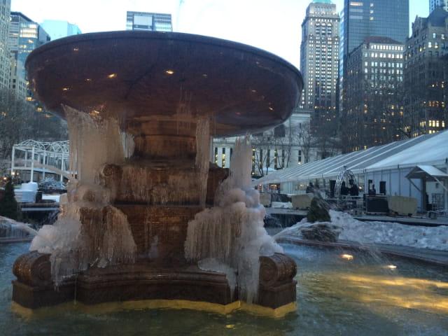 Bryant Park como parte importante del invierno en Nueva York