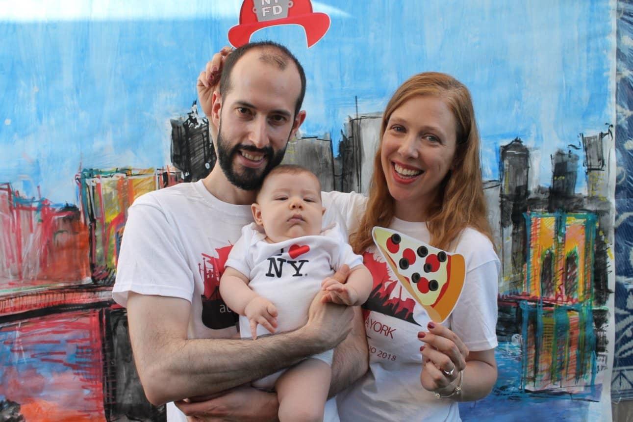 Pedro y Abby, fundadores de Auténtico Nueva York