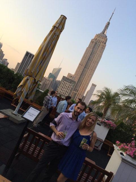Celebrando nuestro aniversario en Nueva York