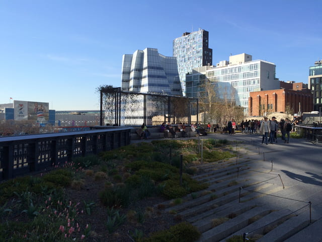 Paseando por el High Line