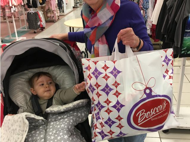 Paula de compras en Nueva York