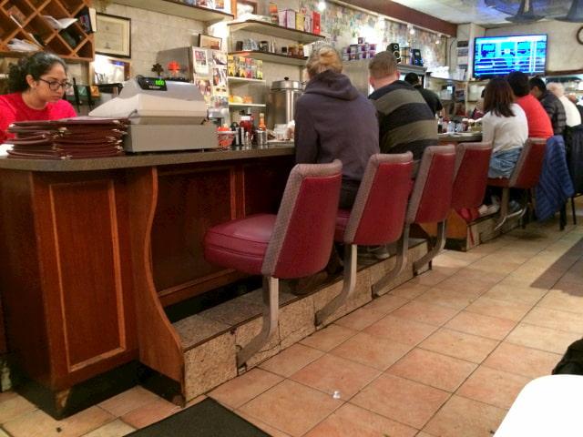 La barra del Morning Star Café en Nueva York