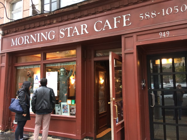 Exterior del Morning Star Cafe