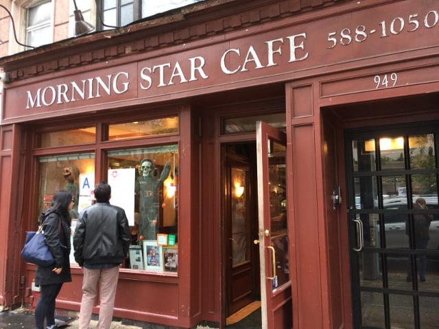 Exterior del Morning Star Cafe
