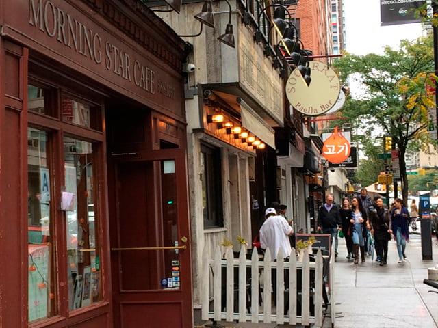 Morning Star Cafe es uno de nuestros diners en Nueva York preferidos
