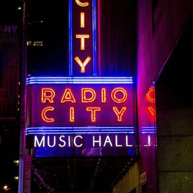 Las Rockettes en Radio City Christmas Spectacular