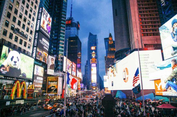 Fiesta privada Times Square Nochevieja