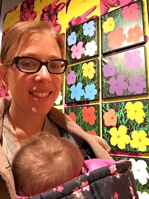 Visitando el Museo Whitney con Paula