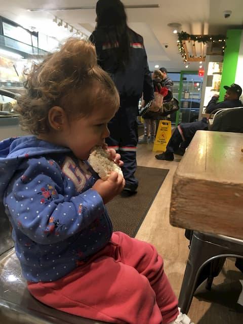 Multitud de rincones donde comer con niños en Nueva York