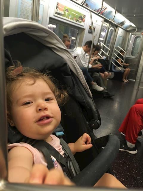 Transporte en familia en Nueva York
