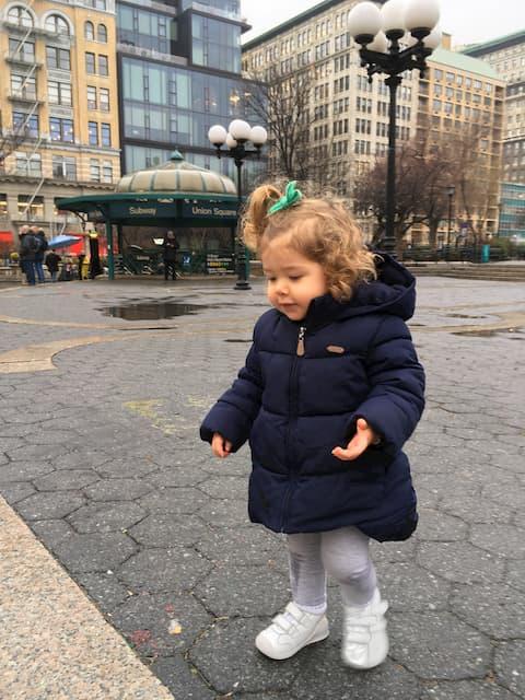 Visitar Union Square con niños