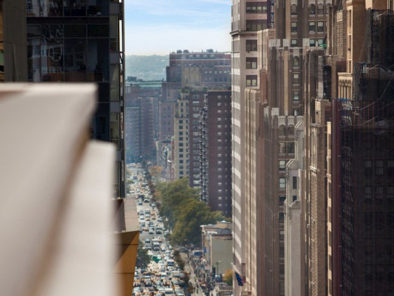Vistas de Nueva York desde una de las habitaciones del Hotel Row NYC