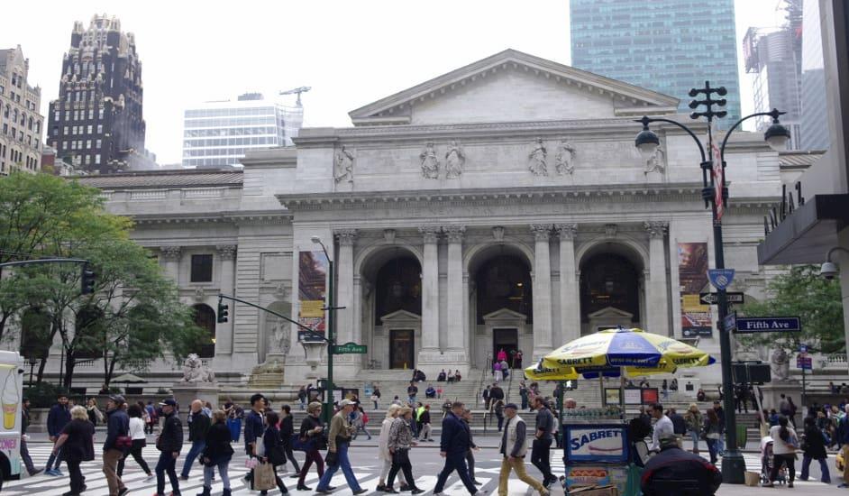 Biblioteca Pública donde podrás encontrar libros sobre Nueva York
