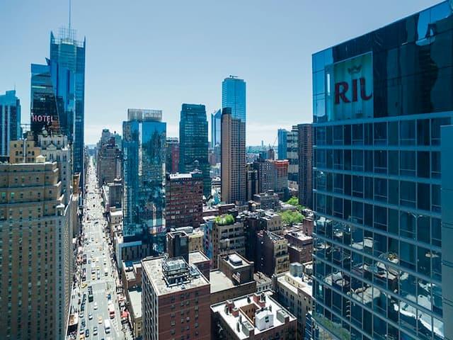 Vistas desde la habitación del hotel RIU Plaza Times Square