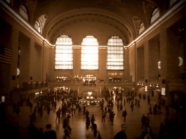 Grand Central como escenario de Hijas del Capitán