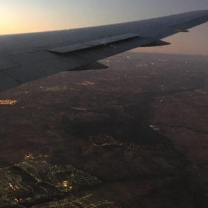 Cogiendo un nuevo vuelos a Nueva York tras canjear el bono