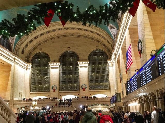 Visitar Grand Central en Navidad