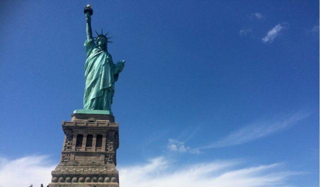 La majestuosa Estatua de la Libertad
