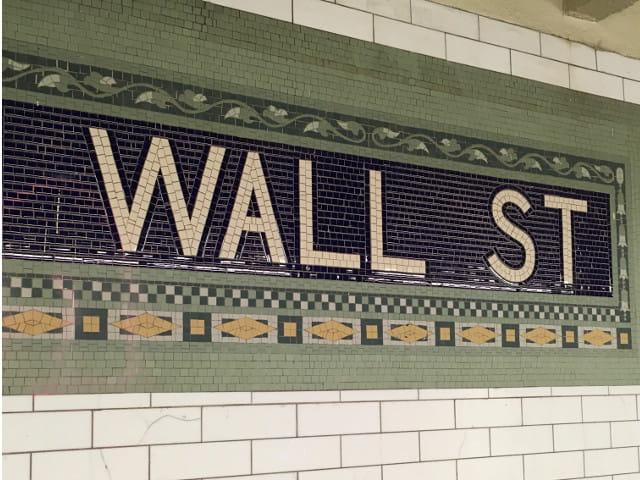 Metro de Wall Street que te lleva al Oculus Nueva York