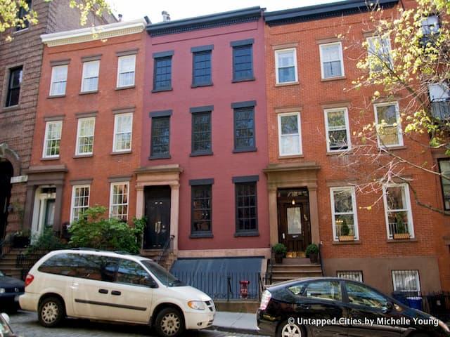 Brooklyn Heights esconde un ventilador de metro en una casa falsa