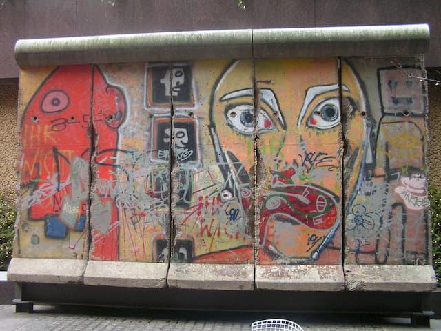 Restos del Muro de Berlín en Nueva York