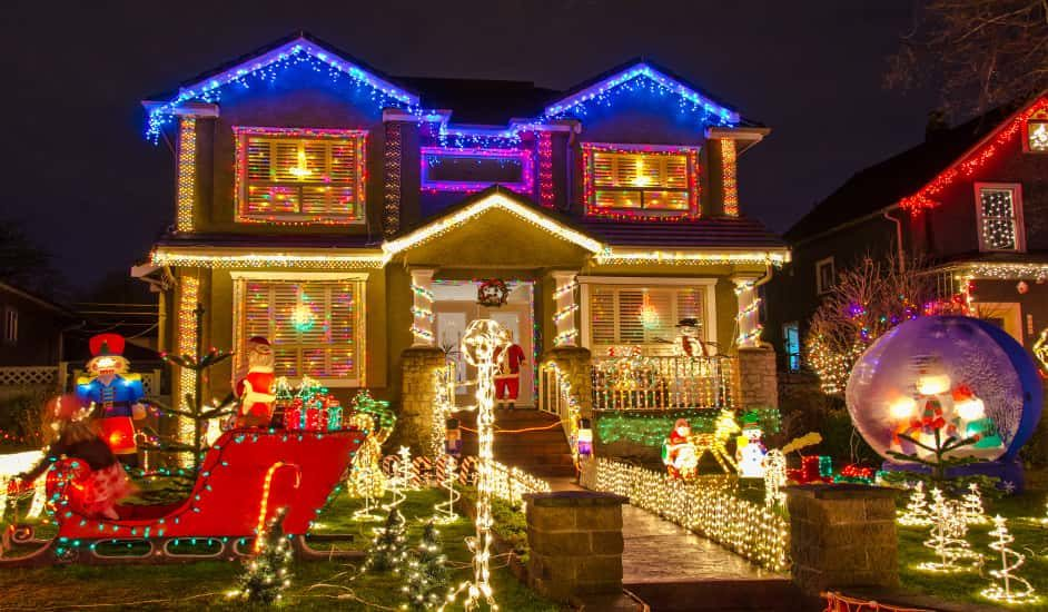 Tour de Luces de Navidad con la visita a Dyker Heights