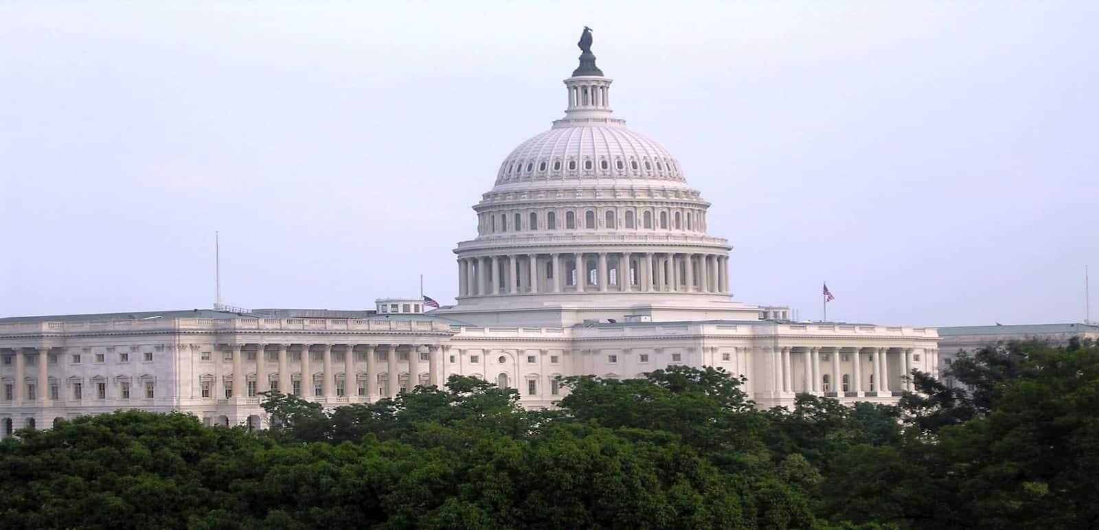 Excursión a Washington de 1 día desde Nueva York donde se ve el Capitolio