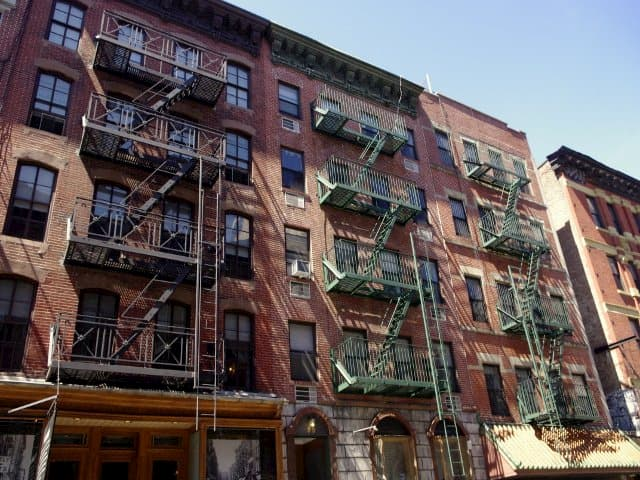 Casas de la Calle Orchard en el Lower East Side