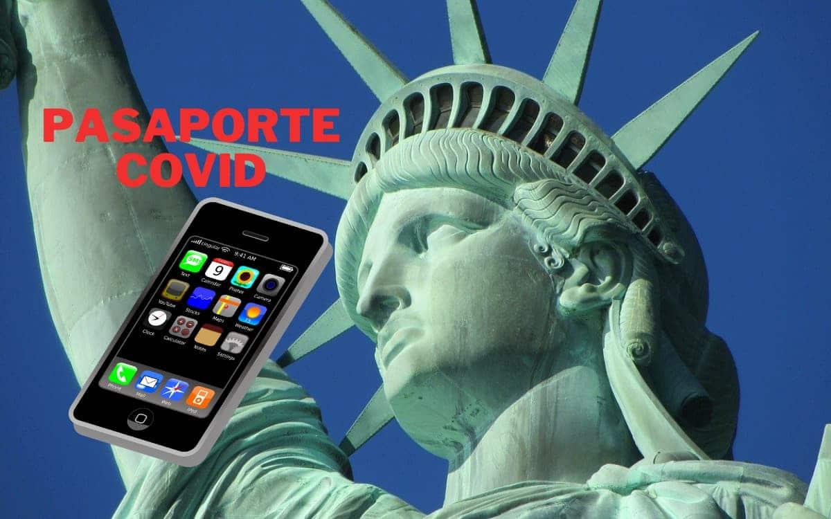 Pasaporte Covid en Nueva York
